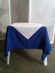 Azul Royal.Branco